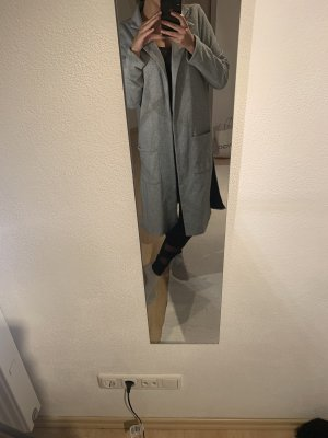 Long Jacket black-light grey