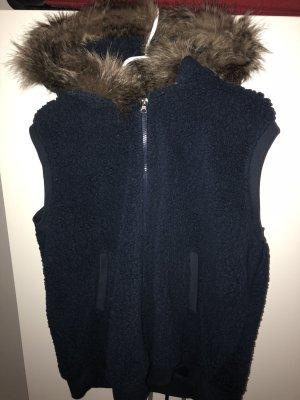 b.p.c. Bonprix Collection Wool Jacket dark blue