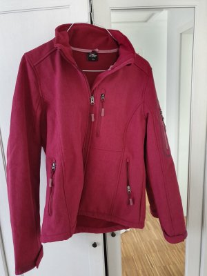 Arena Softshell Jacket raspberry-red