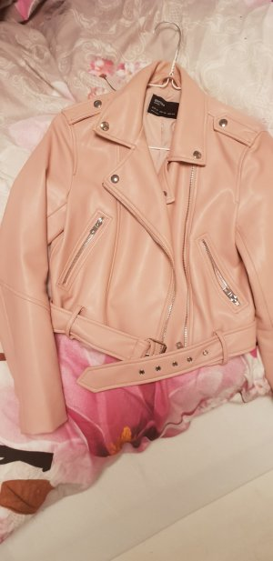 Bershka Veste or rose