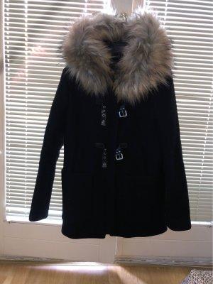 Zara Giacca di lana nero