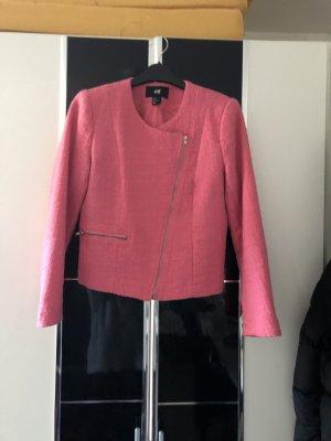 Woman for H&M Gebreide blazer roze