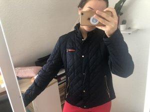 Zara Bomberjack donkerblauw-rood