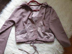 Sweewe Giacca-camicia color oro rosa-malva