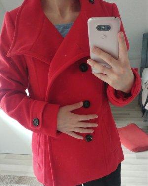 H&M Pelzen jack rood