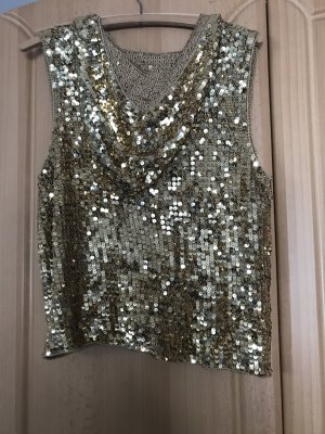 Apart Blouse Jacket gold-colored