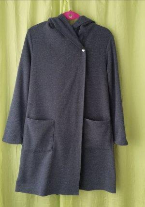 Amisu Giacca di lana grigio scuro Tessuto misto
