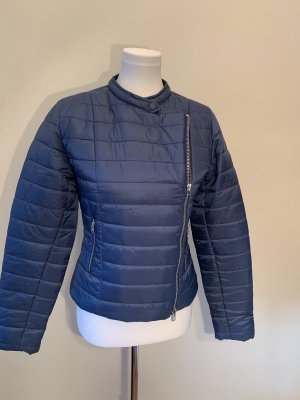 Closed Quilted Jacket steel blue-cornflower blue