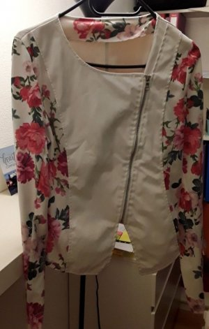& other stories Leather Blazer white-pink