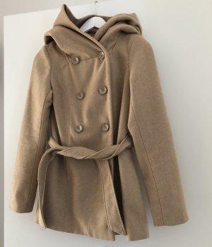 Amisu Wool Jacket beige-camel