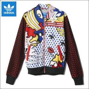 Adidas Originals Giacca bomber rosso-blu