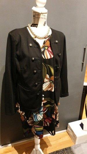 Veste militaire noir polyester