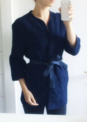 Jacke aus 100% Baumwolle H&M marineblau Navy dunkelblau XS 34 NEU
