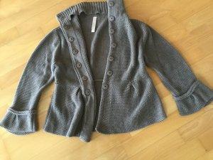 Jacke aus Baumwolle in Größe 38 in Khaki von Oui Moments