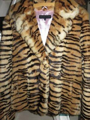 Jacke aus echtem Hasenfell in Tigerlook , Größe 38, neu  !!!!