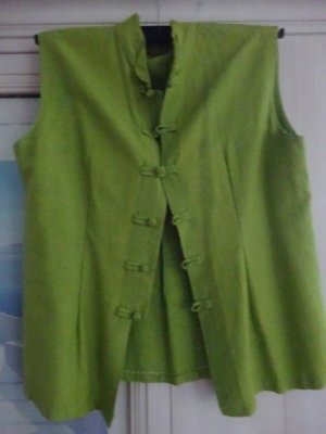 Jacke aus echter Naturseide, asiatischer Stil, 38