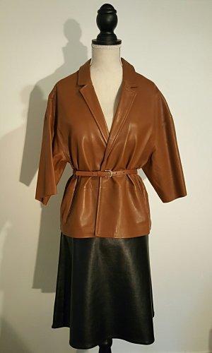 Massimo Dutti Oversized Jacket brown