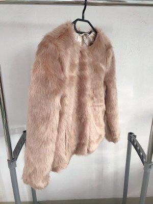 H&M Chaqueta de piel rosa empolvado-rosa