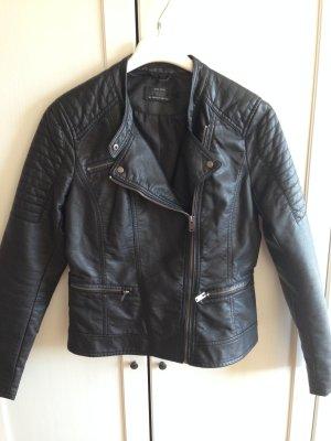Jacke aus Kunstleder neu