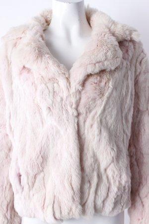Jacke aus Pelz hellrosa