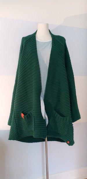Adenauer & Co Cardigan a maglia grossa multicolore Cotone