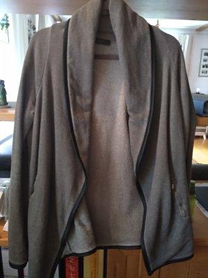 Jacke aus Sweatshirtstoff