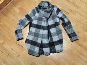 Jacke aus Wolle in grau