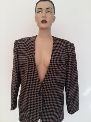 Aigner Long Jacket dark brown wool