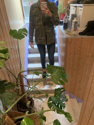 Oversized Jacket taupe-khaki