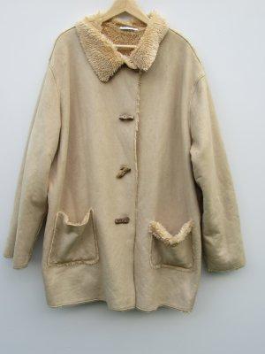 Jacke beige Ulla Popken Gr. 52/54 Vintage Retro
