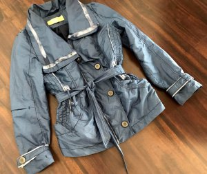 Biba Blouson steel blue mixture fibre
