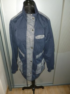 Jacke blau grau Amisu