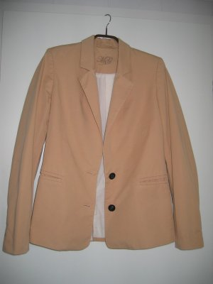 Jacke Blazer Gr. 36 nude orange MANGO