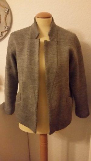 Zara Blazer en laine gris-gris foncé