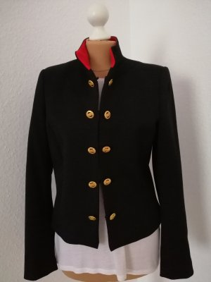 Mango Blazer black-red