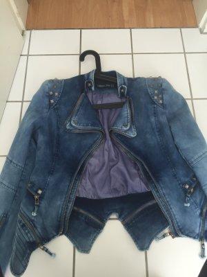 Jacke Blazer lookbookstore neu Blogger Jeans blau
