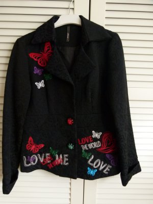 Jacke Blazer Love & Love schwarz wie neu! Gr. M/L