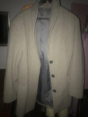 Wool Blazer grey brown-beige