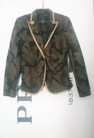 Jacke blazer von blonde No 8 gr. 38 military Look