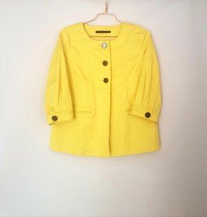 Jacke blazer von Set gr. 38 gelb