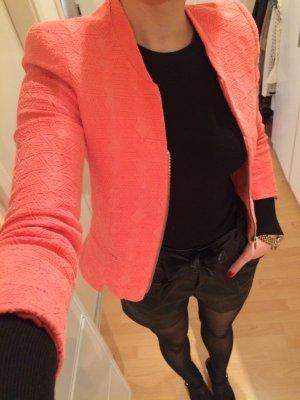Jacke Blazer ZARA orange Atztek