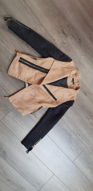 Jacke braun/schwarz