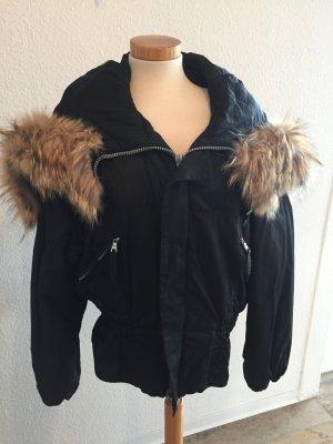 Jet Set Chaqueta con capucha negro