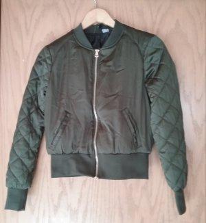 H&M Bomber Jacket olive green