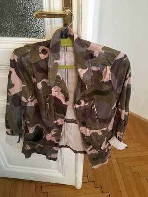 H&M Divided Veste militaire multicolore