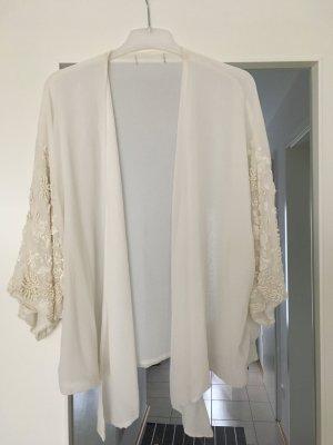 Zara Veste en laine multicolore lycra