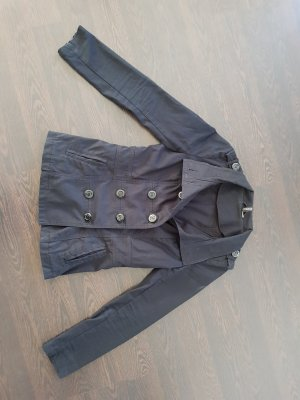 H&M Long Jacket black