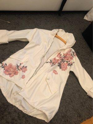 0039 Italy Oversized Jacket cream-pink