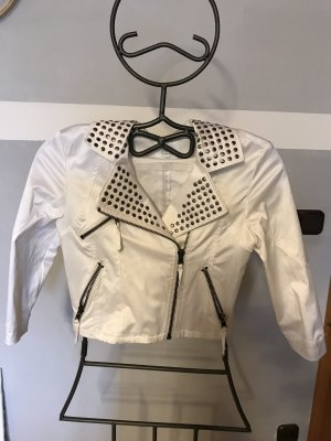 Ann Christine Short Jacket white