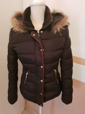 Attentif Jacket black-bronze-colored